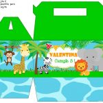 cajitas animalitos de la selva cumple 04