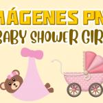Imágenes PNG Baby Shower Niña GRATIS con fondo transparente