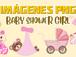 imagenes png Baby shower girl