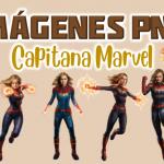 Imágenes PNG Capitana Marvel GRATIS con fondo transparente