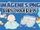 imagenes png baby shower boy