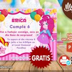 Invitación de Equestria Girl para Editar GRATIS