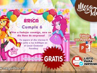 invitacion EQUESTRIA GIRL muestra