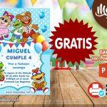 Invitación de Muppets Baby GRATIS para Editar