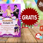 Invitación de Los Polinesios GRATIS para Editar