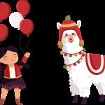 peruana llamita fiestas patrias