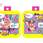 Banderines Barbie Super Princesa 01
