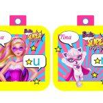 Banderines Barbie Super Princesa 04