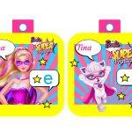 Banderines Barbie Super Princesa 06
