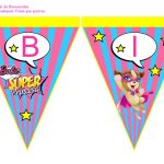 Banderines Barbie Super Princesa 09