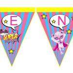 Banderines Barbie Super Princesa 10