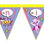 Banderines Barbie Super Princesa 12