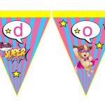 Banderines Barbie Super Princesa 13
