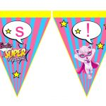 Banderines Barbie Super Princesa 14