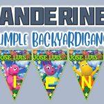Banderines de Backyardigans para Cumpleaños