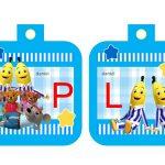 Banderines cumple Bananas en Pijamas 05