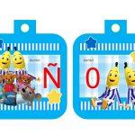 Banderines cumple Bananas en Pijamas 07
