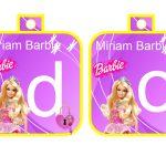 Banderines cumple Barbie 06
