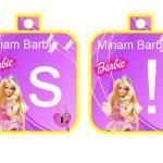 Banderines cumple Barbie 7