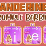 Banderines de Barbie para Cumpleaños