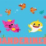 Banderines cumple baby shark 01