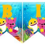Banderines cumple baby shark 02