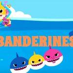Banderines cumple baby shark modelo 2 01
