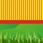Fondo raya pasto3 verde rojo