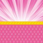 Fondo rosado con amarillo perritos
