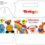 Kit Imprimible Cumple BabyTV 11