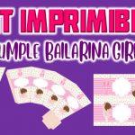Kit Imprimible de Bailarina para Cumpleaños