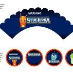 Kit Imprimible cumple Bajoterra 08