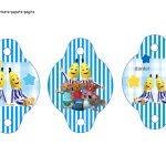 Kit Imprimible cumple Bananas en Pijamas 04