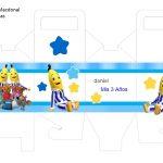 Kit Imprimible cumple Bananas en Pijamas 06