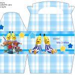 Kit Imprimible cumple Bananas en Pijamas 07