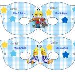 Kit Imprimible cumple Bananas en Pijamas 09
