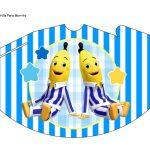 Kit Imprimible cumple Bananas en Pijamas 10