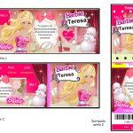 Kit Imprimible cumple Barbie 02