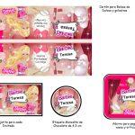 Kit Imprimible cumple Barbie 03
