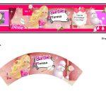 Kit Imprimible cumple Barbie 06