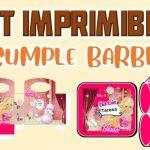Kit Imprimible de Barbie para Cumpleaños