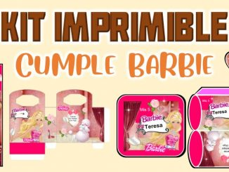 Kit Imprimible cumple Barbie MUESTRA