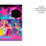 Kit Imprimible cumple Barbie Pop Star 01