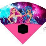 Kit Imprimible cumple Barbie Pop Star 06