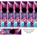 Kit Imprimible cumple Barbie Pop Star 11