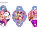 Kit Imprimible cumple Barbie Super Princesa 04