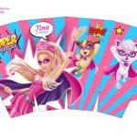 Kit Imprimible cumple Barbie Super Princesa 06