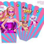 Kit Imprimible cumple Barbie Super Princesa 07