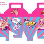 Kit Imprimible cumple Barbie Super Princesa 08