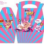 Kit Imprimible cumple Barbie Super Princesa 09